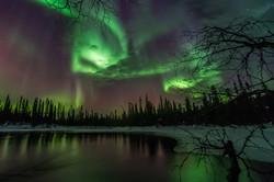 Aurora Storm at Äkäsmylly