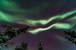 Aurora Borealis above 2