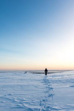 Walking on Kesänki