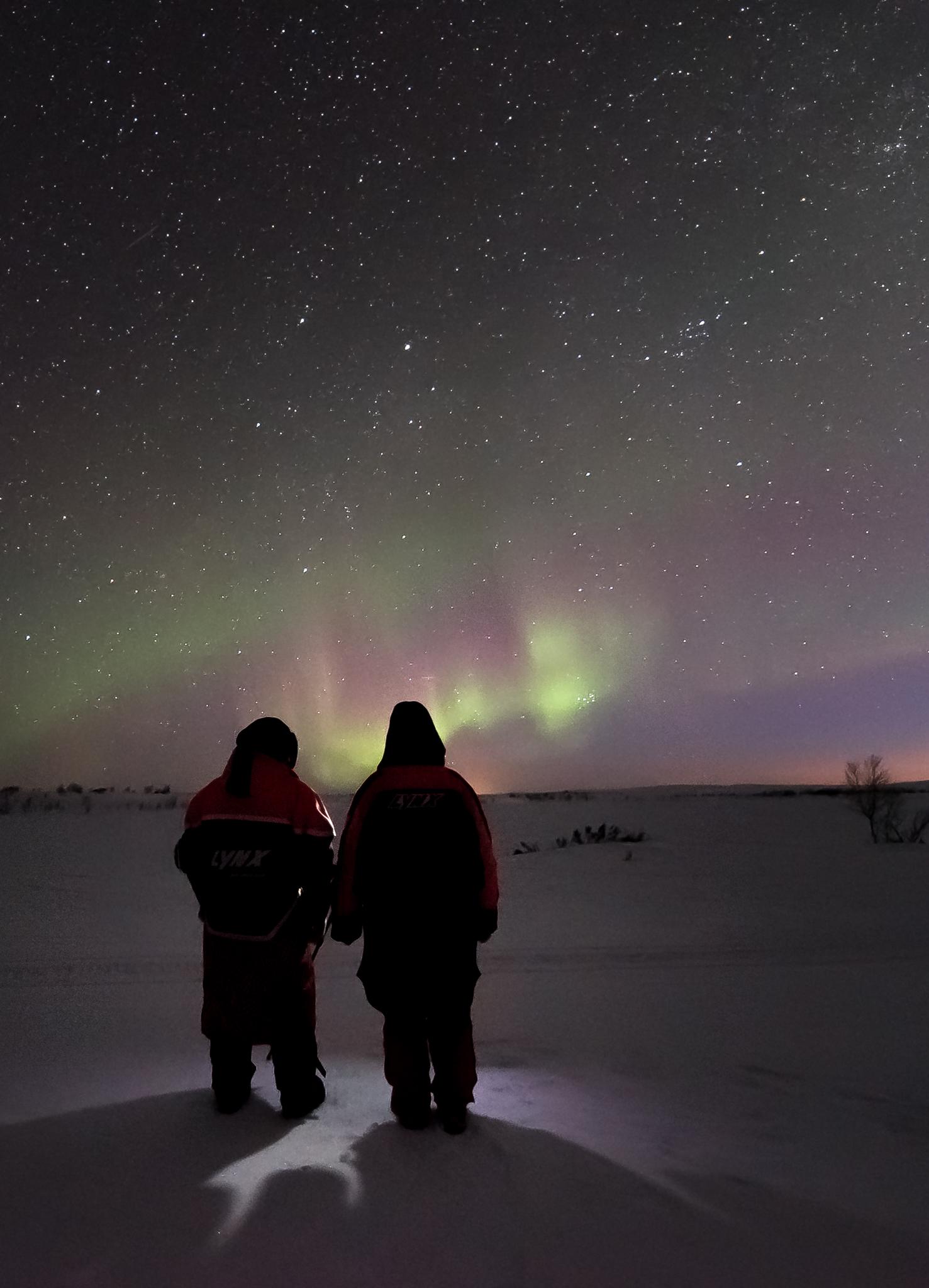 Aurora Borealis at Pöyrisjärvi