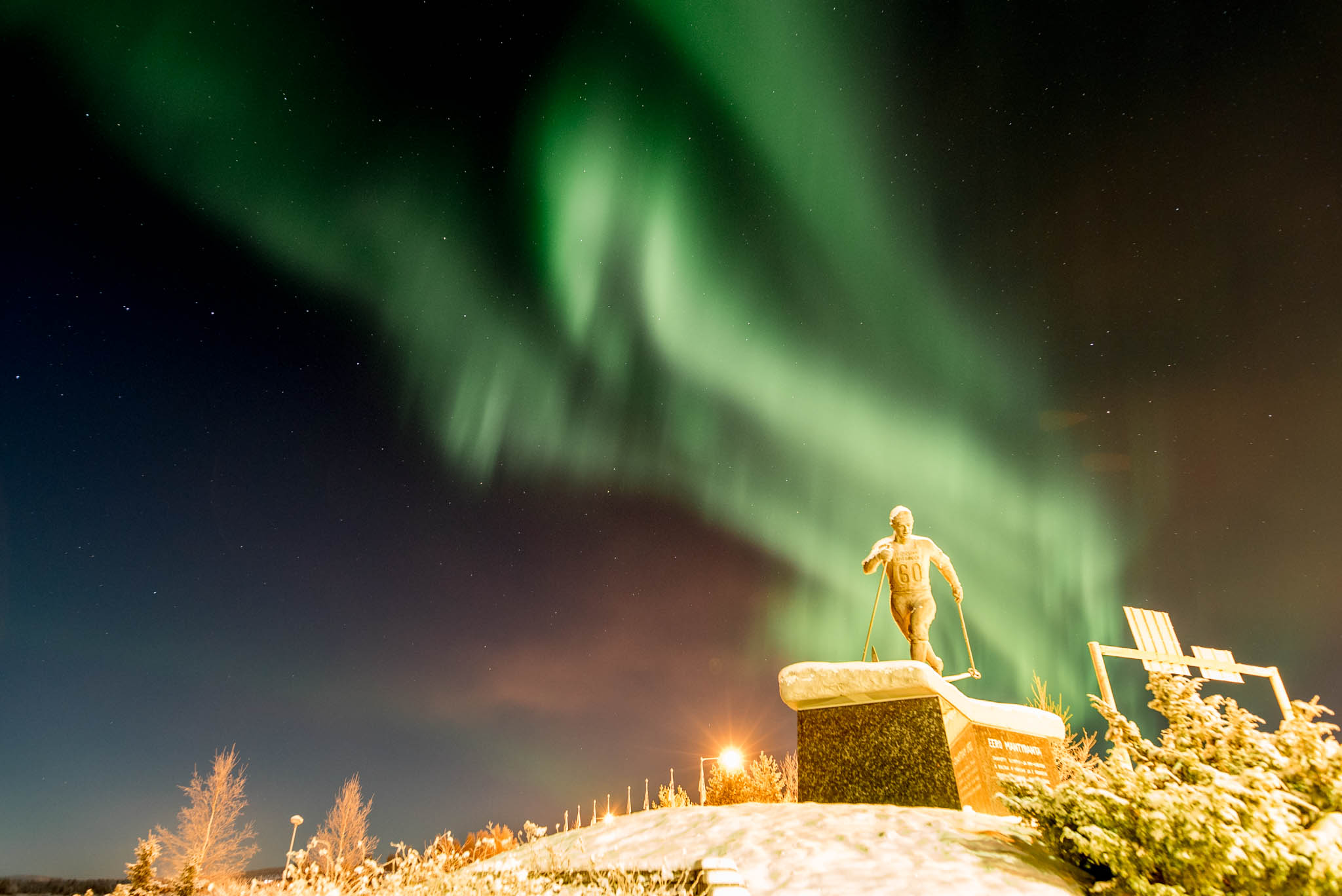 Aurora Borealis at Pello