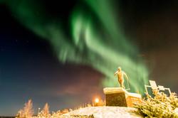 Aurora Borealis at Pello