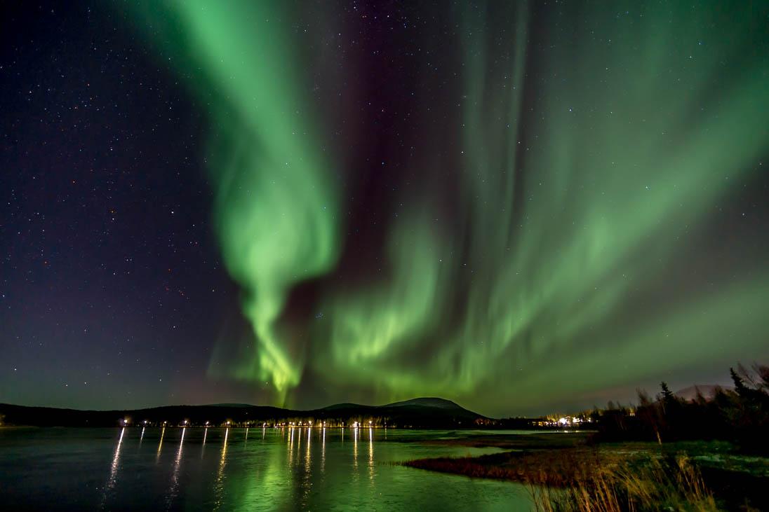 October Aurora Borealis