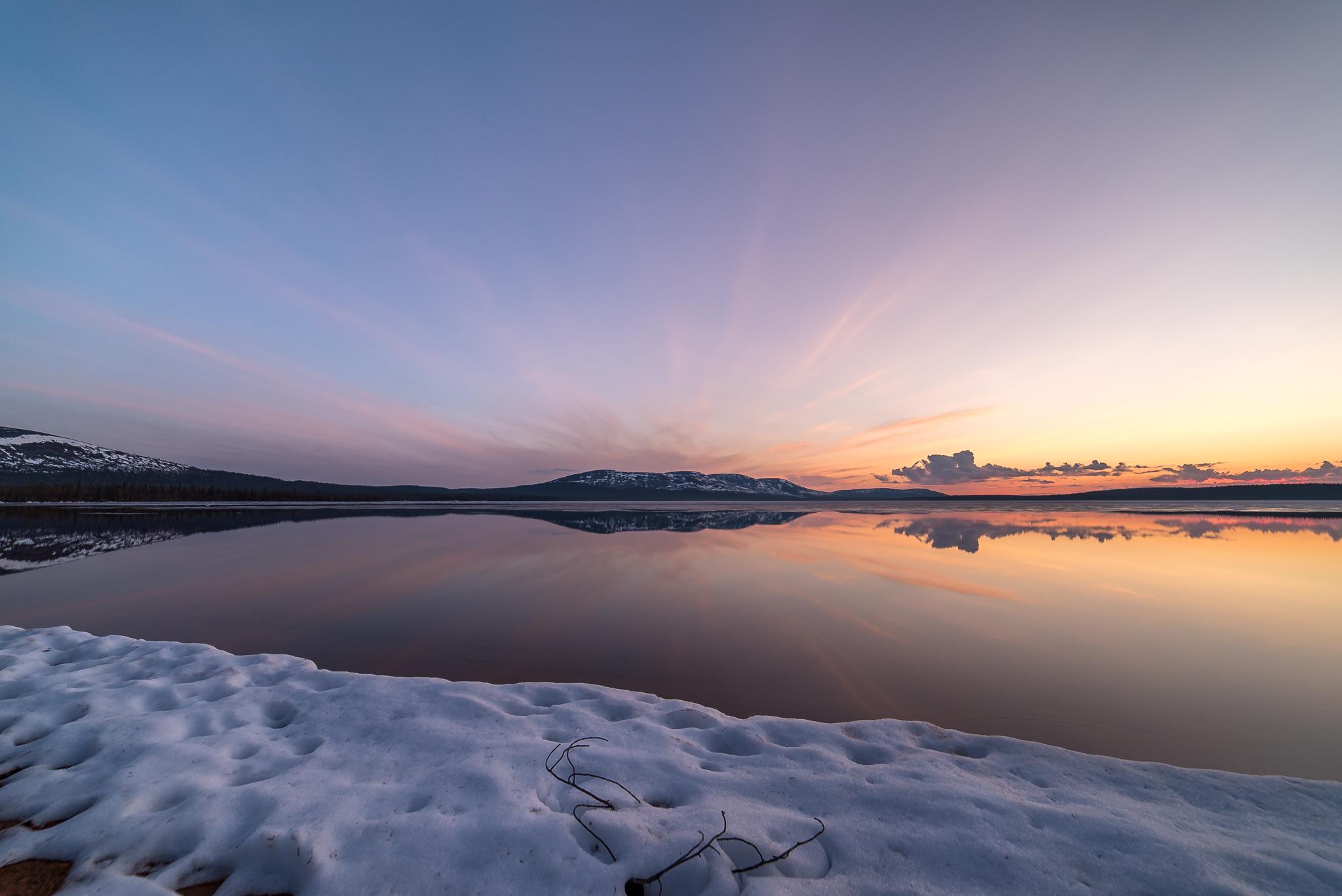 Lake Pallasjärvi