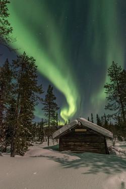 Night at Äkäsmylly