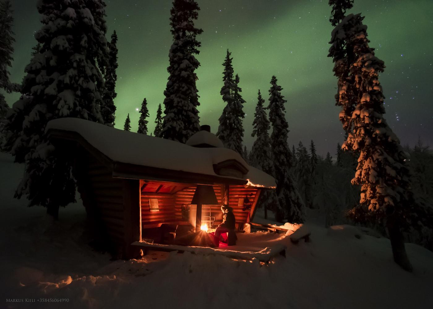 Aurora Borealis at Varkaankuru