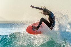Tea Tree Bay Surfer