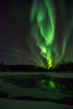 Nortehrn Lights & River Kesänki