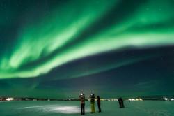 Shooting Aurora Borealis