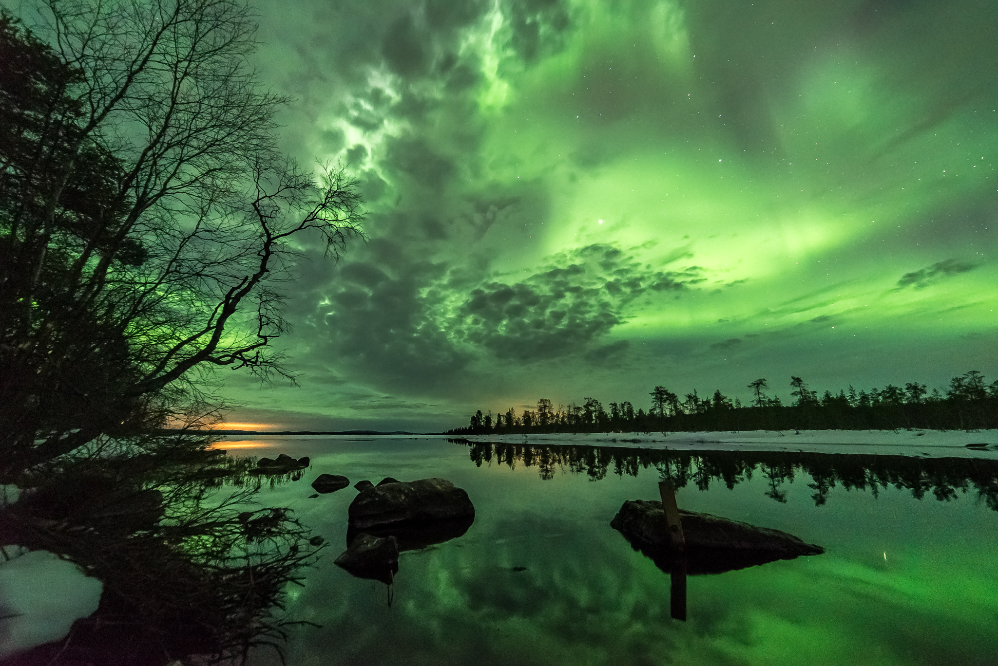 Aurora Borealis at Kutuniva