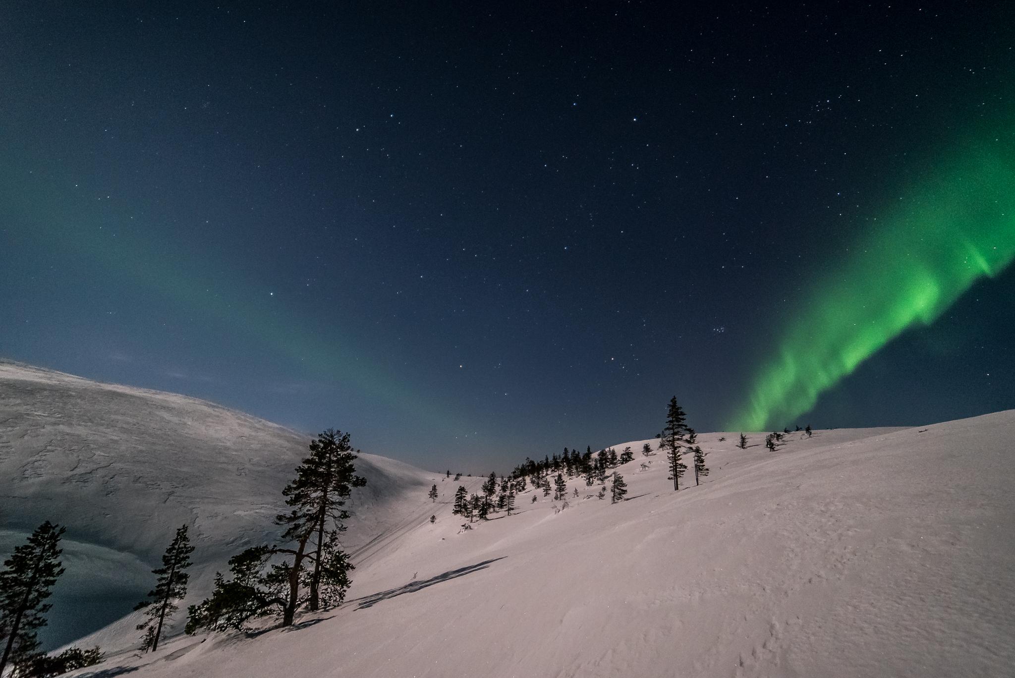 Aurora Borealis at Kellostapuli