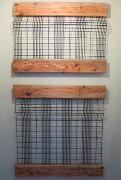 Coat Rack - used with removable hooks