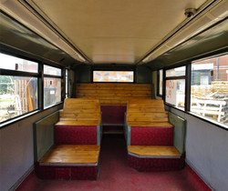 Double-decker bus conversion