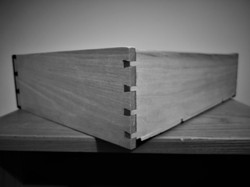 Dovetailed drawer detail
