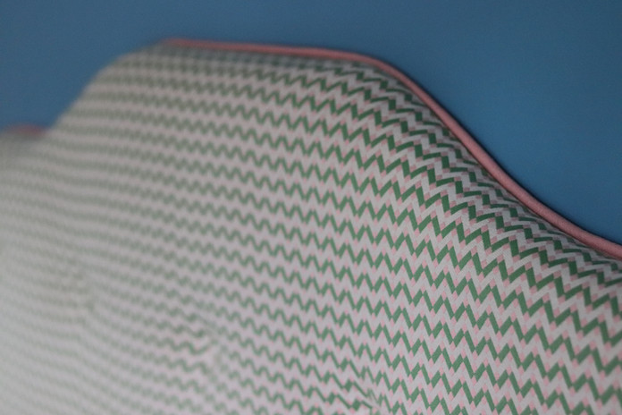 Headboard close up