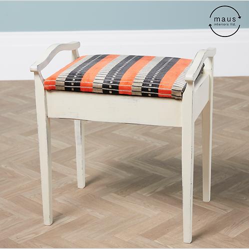 maus piano stool (weathered finish)