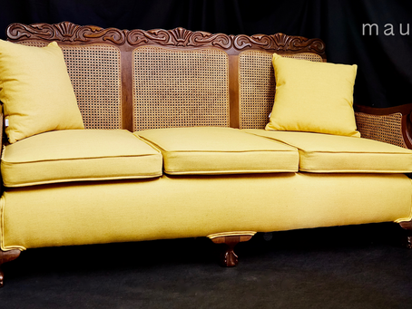 Case Studies: Traditional Caned Sofa