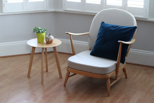 Slimline Ercol replacement cushions
