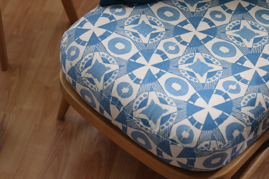 close up of Ercol replacement covers