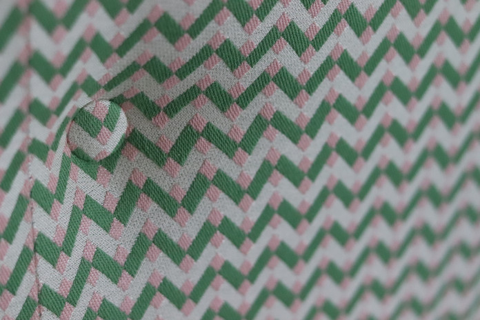 Pattern matched shallow buttoning