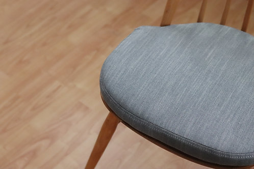 maus washable ercol (or equivalent) dining seat pads with press stud tabs