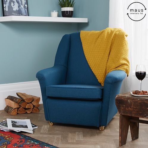 maus armchair in wool