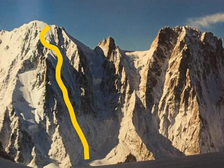 Alpine climbs.