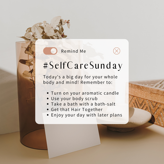 #SelfCareSunday Gems!