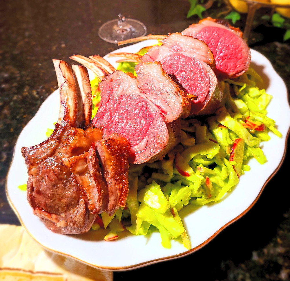 No-Fail Sous Rack of Lamb (Gluten-free, No Soy/Dairy/Grains)