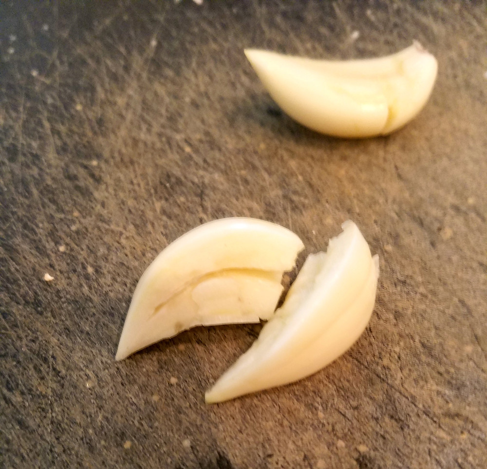 Garlic giving you issues? Try removing the germ!