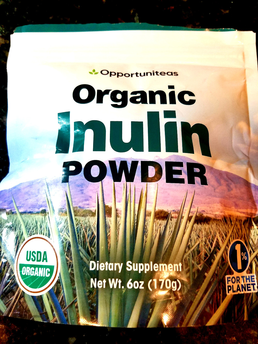 Opportuniteas Organic Inulin Powder - Prebiotic Super Fiber
