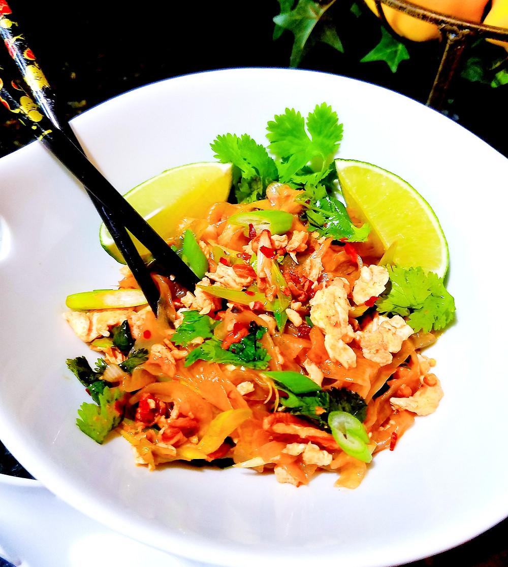 EASY Pad Thai (Gluten-free, grain-free, dairy-free, soy-free)