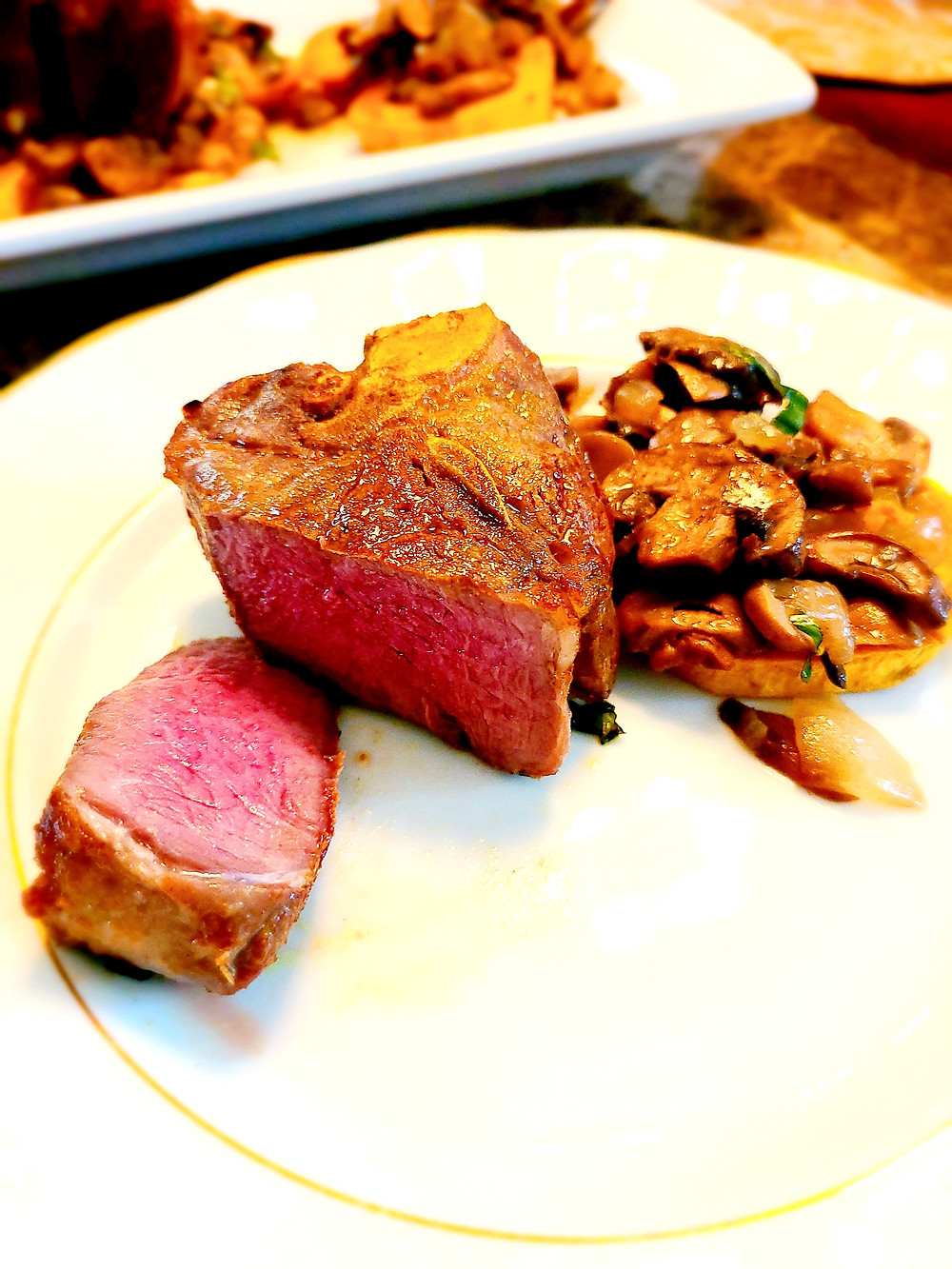 Tender, Juicy Sous Vide Lamb Loin Chops (Gluten-free, dairy-free, grain-free, soy-free, AIP)