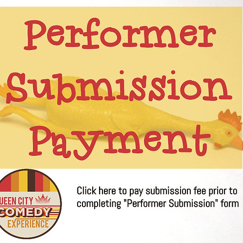 Queen City Comedy Experience performer submission