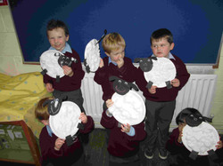Junior Infants Sheep Art1