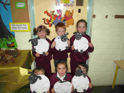 Junior Infants Sheep Art2