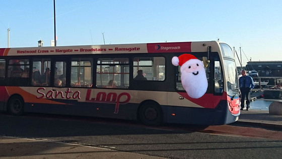 Santa Forced To Use Thanet Loop After Sleigh Stolen