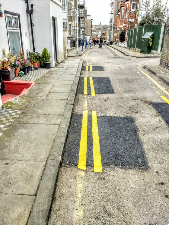 Council Cutback On Double Yellow Lines