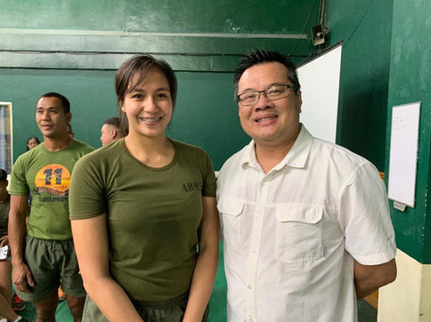 Philippines Chiropractor with Jovelyn Gonzaga