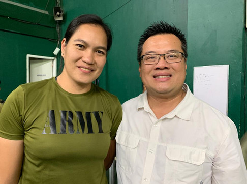 Philippines Chiropractor with Philippine Army