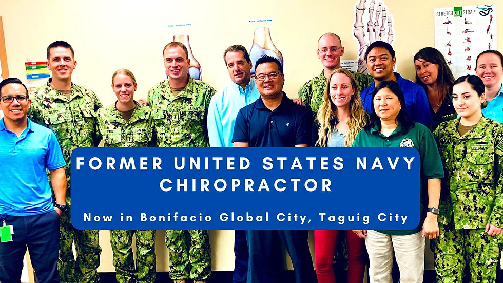 Copy of Former united states chiropracto