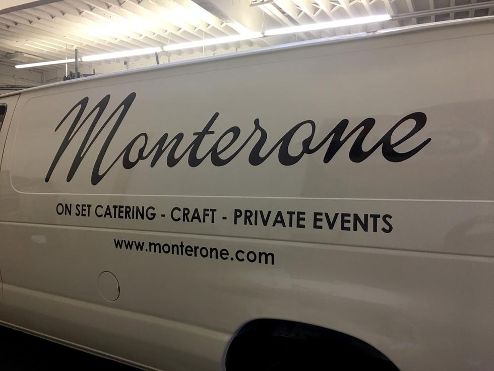 Monterone Van Lettering