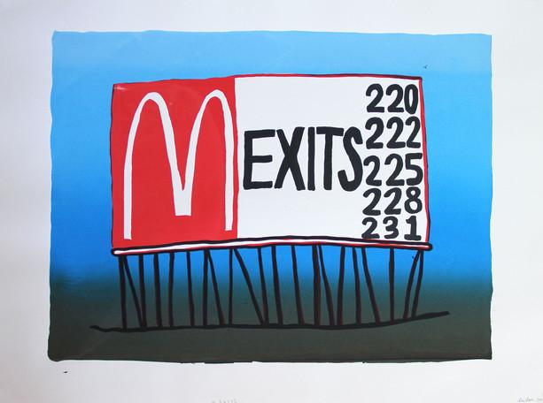 M Exit
