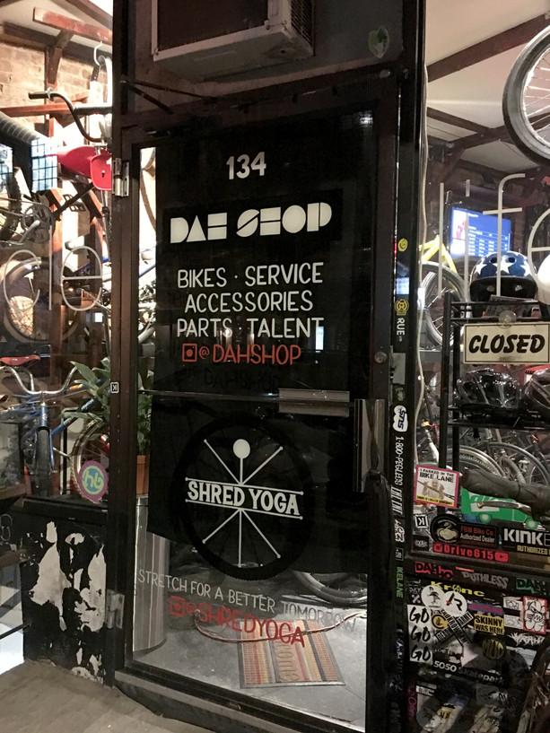 Dah Shop Door