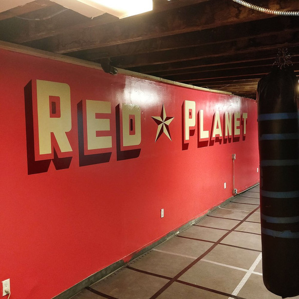 Red Planet Wall