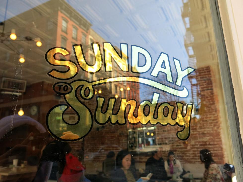 Sunday to Sunday Doors