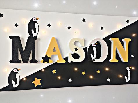 Toile Lumineuse - Mason