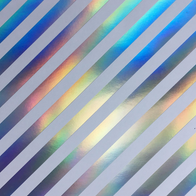 GM3 - Gris motif rayure argentée
