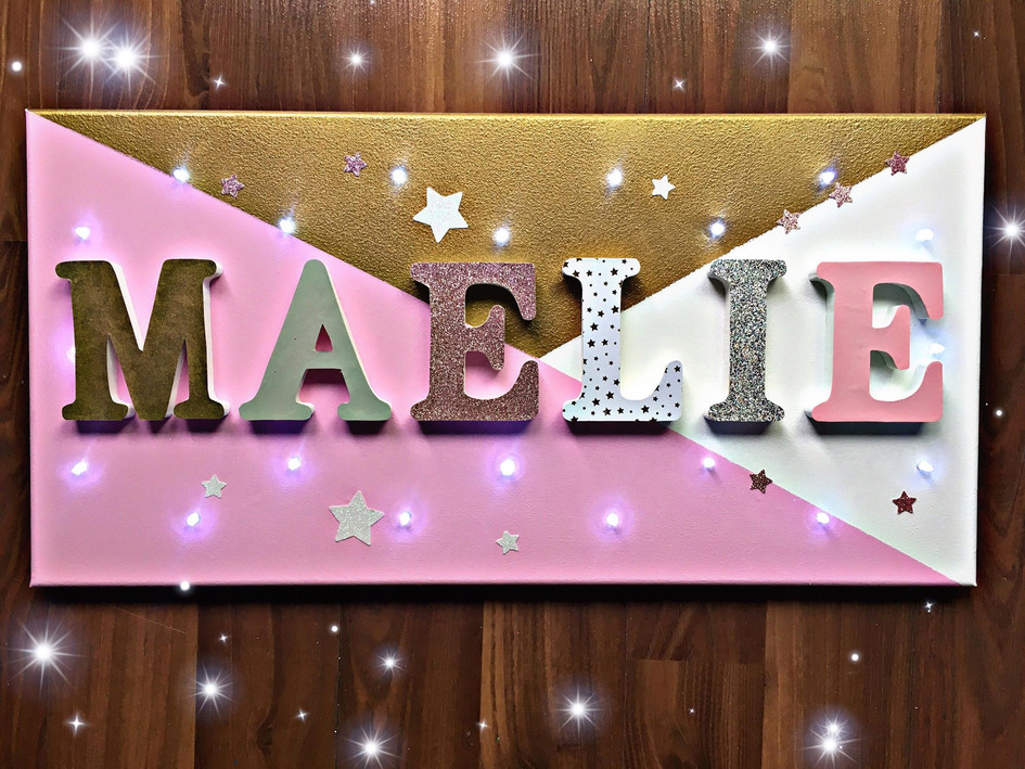 Toile Lumineuse - Maélie
