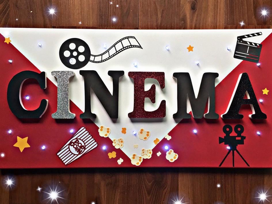 Toile Lumineuse - Cinéma